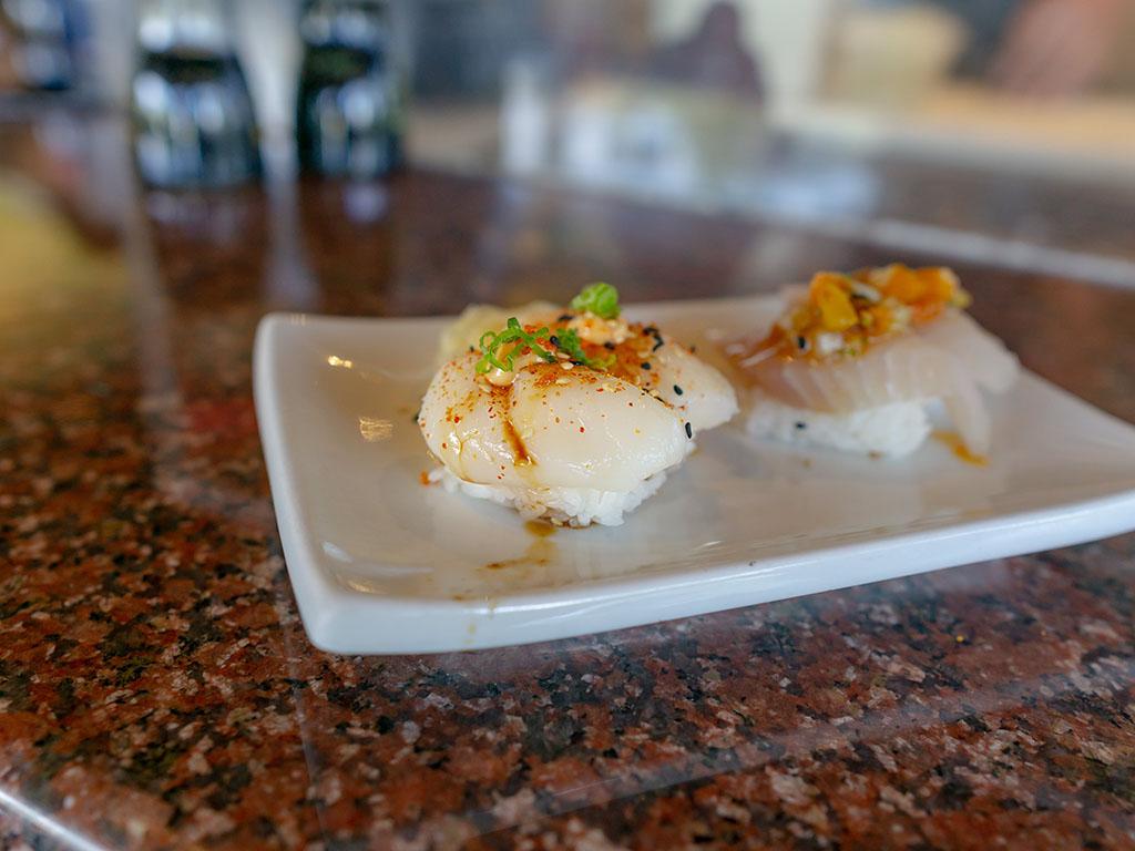 Sushi Groove - scallop sashimi