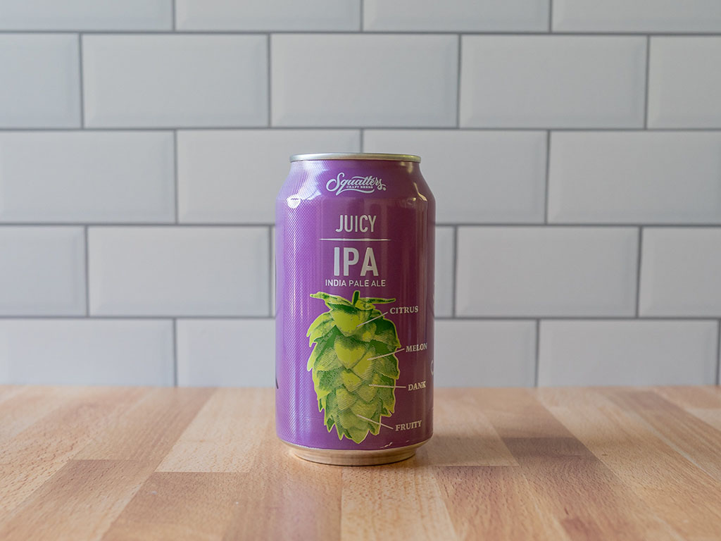 Squatters Juicy IPA can front