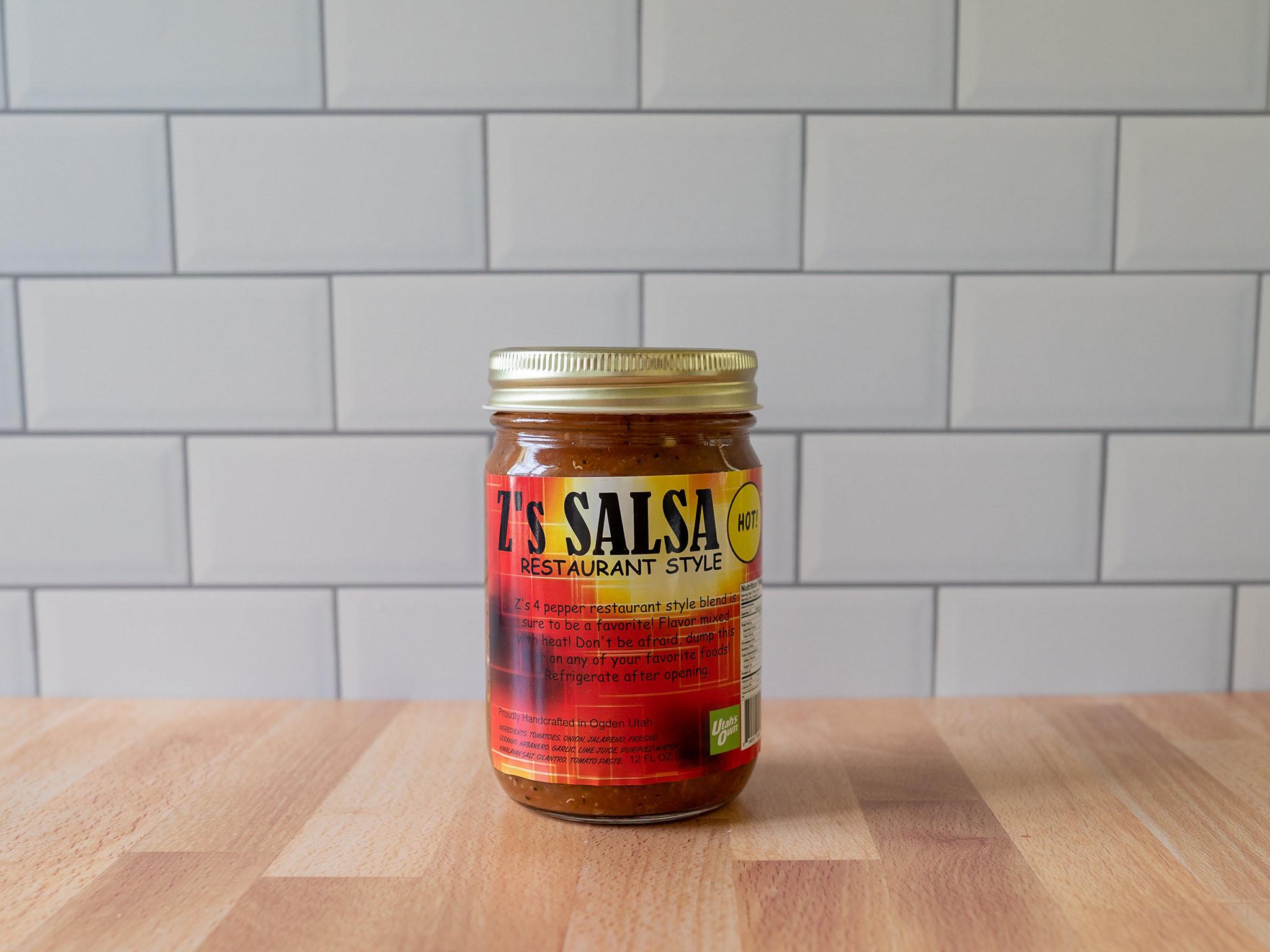 Z's Restaurant Style Hot Salsa