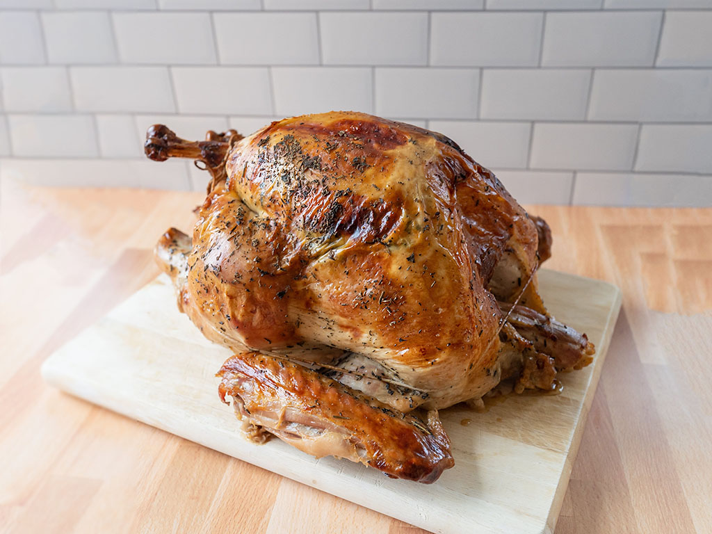 Beltex Meats brined turkey