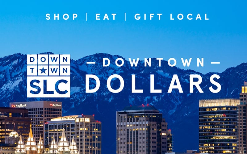Downtown Alliance Launches E-Card Incentive for Shopping and Dining in Downtown SLC