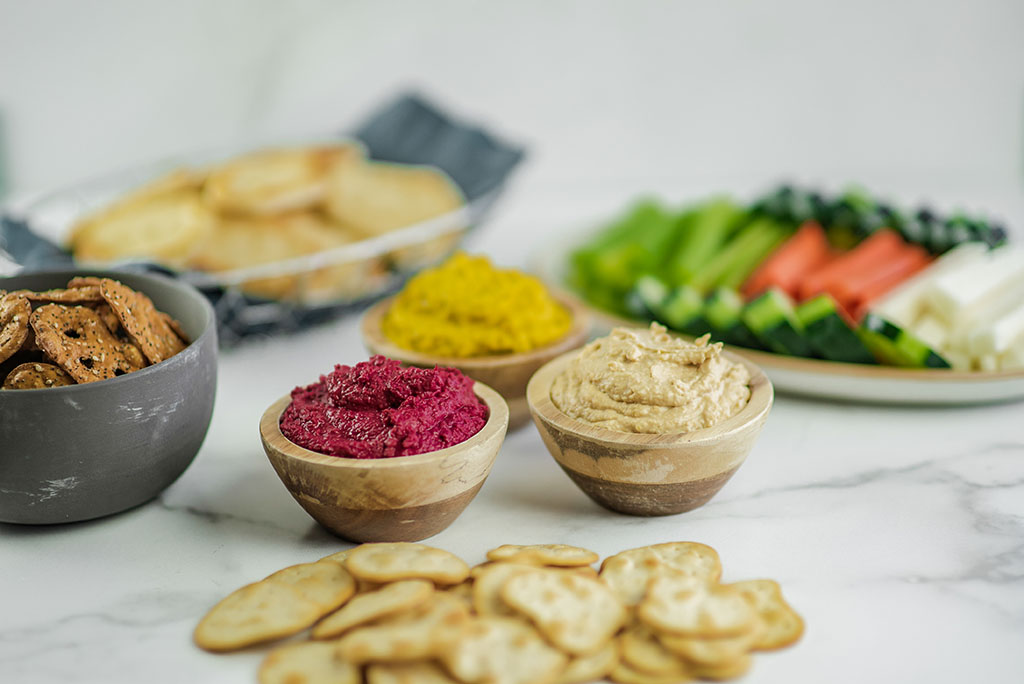 Ready for Dipping—Harmons Grocery Creates Five New, Bold Hummus Flavors