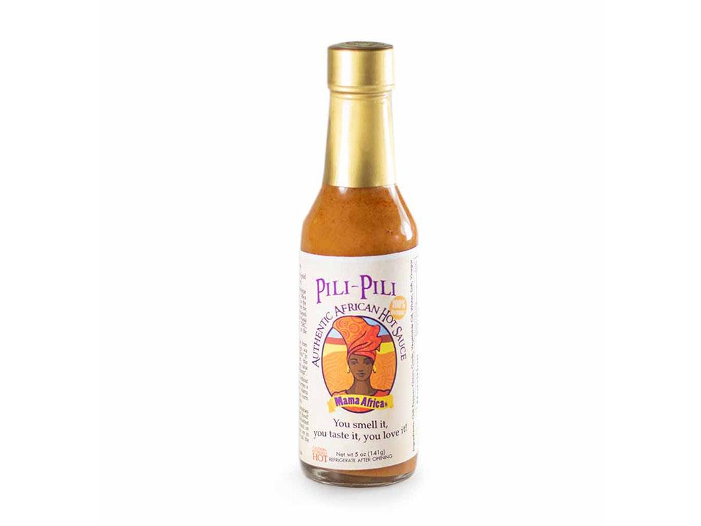 Mama Africa Pili Pili hot sauce (Caputo's)